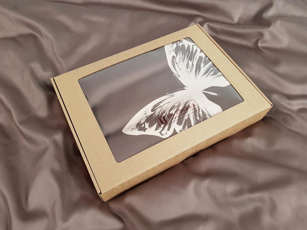 Patalynės komplektas ENIGMA Mocca Butterflies 220x200 cm