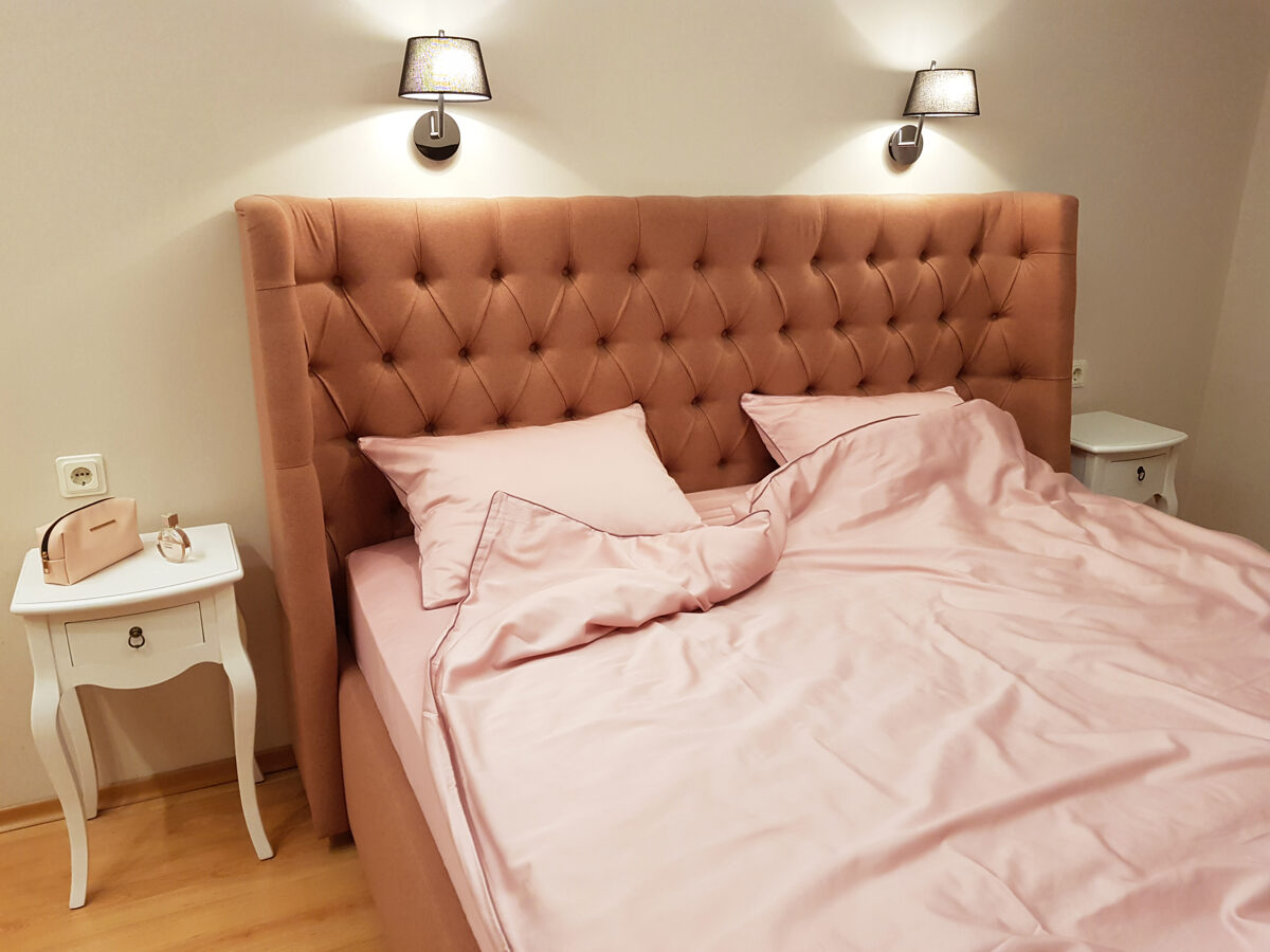 Patalynės komplektas LINEA Flamingo 140x200 cm
