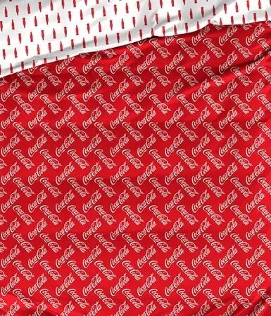 Patalynės komplektas Coca-Cola Red 140x200 cm