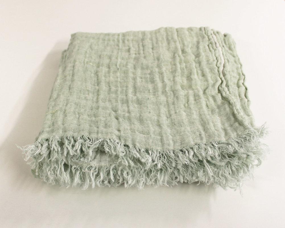 Pledas Linen Stripes Mint