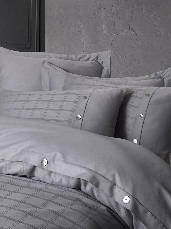 Patalynės komplektas PERLA Grey 200x220 cm