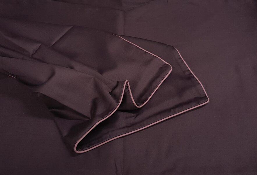 Patalynės komplektas LINEA Eggplant R 220x200 cm