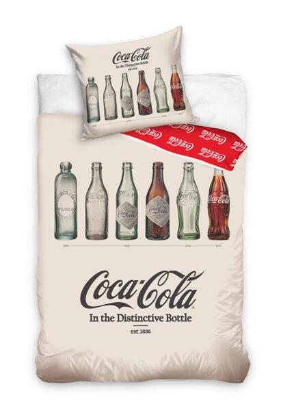 Patalynės komplektas Coca-Cola White 140x200 cm