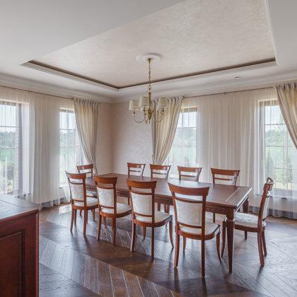 House (Siauliai, LIthuania). Interior designers: Antanas Ruminas, Edita Visockienė.