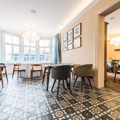 "Restaurant ""Philippe"" (Jurmala, Latvia). Interior designer: Zane Tetere-Šulce"